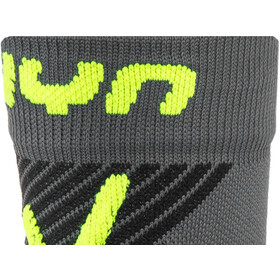 UYN Cycling MTB Light Chaussettes Homme, anthracite/yellow fluo